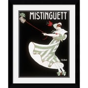 "Amanti Art Georges Kugelmann Benda ""Mistinguett"" Framed Print Art, 31.25"" x 25.62"""
