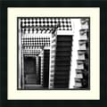 Amanti Art Ellen Fisch in.Architectural Detail No. 34in. Framed Print Art, 18in. x 18in.