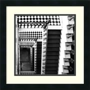 "Amanti Art Ellen Fisch ""Architectural Detail No. 34"" Framed Print Art, 18"" x 18"""