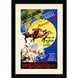 Amanti Art in.Winter Racing, Oriental Park, Havana, Cuba, 1939in. Framed Print Art, 33.62in. x 23.62in.