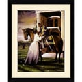 Amanti Art Edward Clay Wright in.Farewellin. Framed Art Print, 31.38in. x 25.38in.