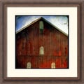Amanti Art Linda Plaisted in.Animal Farmin. Framed Print Art, 18 1/4in. x 18 1/4in.