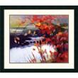 "Amanti Art Tadashi Asoma ""Afternoon Calm"" Framed Print Art, 31"" x 36.12"""