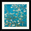 Amanti Art Van Gogh in.Almond Branches in Bloom, San Remy 1890in. Framed Print Art, 26.62in. x 26.62in.