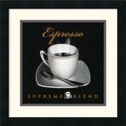 """Amanti Art L. Sala """"Espresso"""" Framed Print Art, 17.88"""" x 17.88"""""""