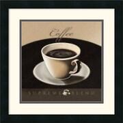 """Amanti Art L. Sala """"Coffee"""" Framed Print Art, 17.88"""" x 17.88"""""""