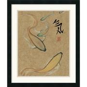 Amanti Art Barbara Psimas Energy I (Gold) Framed Animal Art, 26 x 22