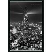 """Amanti Art """"Empire of Lights"""" Framed Print Art, 37.38"""" x 25.38"""""""