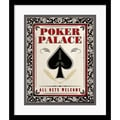 Amanti Art in.Poker Palacein. Framed Print Art, 19in. x 16in.