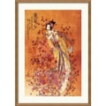 Amanti Art Chinese in.Goddess of Prosperityin. Framed Art, 29in. x 21in.