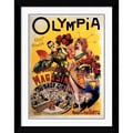 Amanti Art L. Galice in.Olympia 1895in. Framed Print Art, 32.62in. x 25.62in.