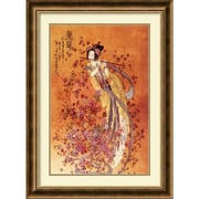 "Amanti Art Chinese ""Goddess of Prosperity"" Framed Art, 31 3/4"" x 23 3/4"""