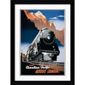 Amanti Art in.Canadian Pacific across Canada, 1930in. Framed Print Art, 32.62in. x 24.62in.