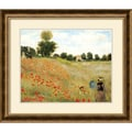 Amanti Art Claude Monet in.Poppies at Argenteuil, 1873in. Framed Art, 24 3/4in. x 28 3/4in.