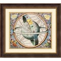 Amanti Art Andreas Cellarius in.Celestial Atlasin. Framed Print Art, 27.12in. x 29.5in.