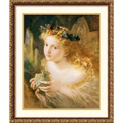 "Amanti Art Sophie Gengemgre Anderson ""Fairy"" Framed Print Art, 25.88"" x 21.88"""