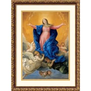 "Amanti Art Guido Reni ""Himmelfahrt Mariae (Ascension Of Mary)"" Framed Print Art, 22.62"" x 17.88"""