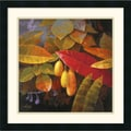 Amanti Art Jung K. An in.Tropical Leaves Iin. Framed Print Art, 22in. x 22in.