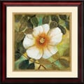 Amanti Art Danson in.White Magnolia IIin. Framed Print Art, 23in. x 23in.