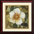 Amanti Art Danson in.White Magnolia Iin. Framed Print Art, 23in. x 23in.