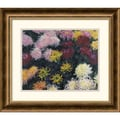 Amanti Art Claude Monet in.Chrysanthemum, 1897in. Framed Art, 18 3/4in. x 21 3/4in.