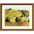 Amanti Art Grant Wood in.Young Corn, 1931in. Framed Print Art, 17.88in. x 21.88in.