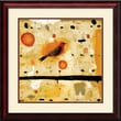Amanti Art Nicholas Wilton in.Orange Tanagerin. Framed Animal Art, 26in. x 26in.