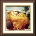 Amanti Art Lord Frederic Leighton in.Flaming Junein. Framed Print Art, 28in. x 28in.
