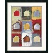 """Amanti Art Niro Vasali """"Home Sweet Home Sweet Home I"""" Framed Art, 27"""" x 22"""""""