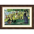 Amanti Art Georges in.Sunday Afternoon on the Island of La Grande...in. Framed Art, 27 1/2in. x 36 1/2in.