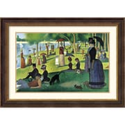 "Amanti Art Georges ""Sunday Afternoon on the Island of La Grande..."" Framed Art, 27 1/2"" x 36 1/2"""
