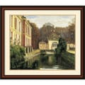 Amanti Art Walter Gay in.Chateau Du Breauin. Framed Print Art, 29in. x 33in.