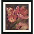 Amanti Art Dysart in.Tulip Twoin. Framed Print Art, 24in. x 22in.