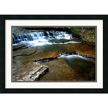 Amanti Art Andy Magee in.Collins Creekin. Framed Print Art, 19in. x 26in.