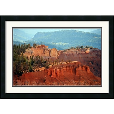 Amanti Art Andy Magee in.Cedar Breaks (Utah)in. Framed Print Art, 19in. x 26in.