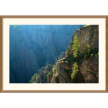 Amanti Art Andy Magee in.Black Canyon Morningin. Framed Print Art, 25in. x 35in.