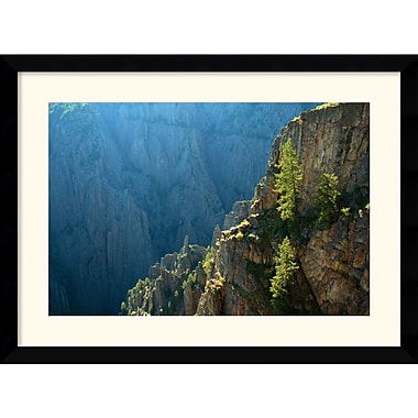 Amanti Art Andy Magee in.Black Canyon Morningin. Framed Print Art, 28.62in. x 38.62in.