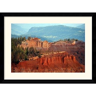 Amanti Art Andy Magee in.Cedar Breaks (Utah)in. Framed Print Art, 28.62in. x 38.62in.