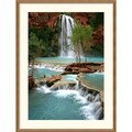 Amanti Art Andy Magee in.Havasu Paradisein. Framed Print Art, 33in. x 25in.