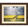Amanti Art John Rogers Cox in.Gray and Gold, 1942in. Framed Print Art, 29 1/2in. x 36 1/2in.