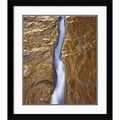 Amanti Art Will Connor in.Water Ribbonin. Framed Print Art, 32.62in. x 28.62in.