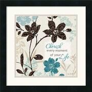 "Amanti Art Lisa Audit ""Botanical Touch Quote I"" Framed Art, 18"" x 18"""