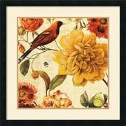 "Amanti Art Lisa Audit ""Rainbow Garden Spice II"" Framed Print Art, 25"" x 25"""