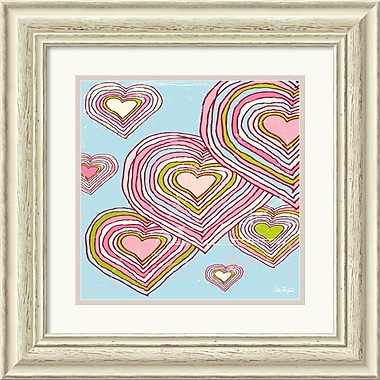 Amanti Art Peter Horjus in.Hearts In Dreamlandin. Framed Print Art, 20.38in. x 20.38in.
