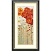 """Amanti Art Danhui Nai """"Daisies Fall II"""" Framed Print Art, 26 1/2"""" x 14 1/2"""""""