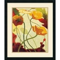 Amanti Art Shirley Novak in.Tres Vignes IIIin. Framed Print Art, 27in. x 23in.