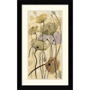 "Amanti Art Shirley Novak ""Fluidity I"" Framed Art, 31.62"" x 19.62"""