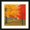 Amanti Art Lynn Krause in.Bright Autumn Day IIin. Framed Print Art, 25in. x 25in.