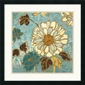 Amanti Art Wild Apple in.Sophias Flowers II Bluein. Framed Print Art, 25in. x 25in.