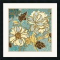Amanti Art Wild Apple in.Sophias Flowers I Bluein. Framed Print Art, 25in. x 25in.